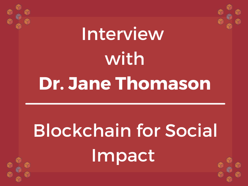 Interview with Dr. Jane Thomason
